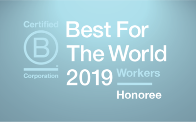 O'Connells OBM awarded Best for Workers in the global B Lab honourees list fifth year running! #bestfortheworld19